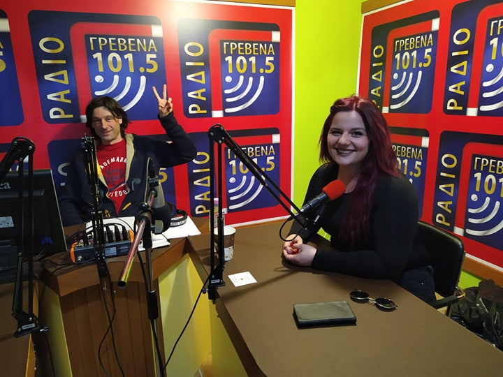 """H συνέντευξη της κ.Μαρίας Σβολιαντοπούλου , σεναριογράφου της ταινίας """" Για θύμισε μου """" , στο Ράδιο Γρεβενά 101,5 ( Ηχητικό video )"""