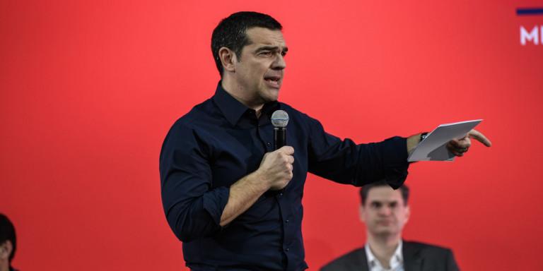 Περιοδεία του Προέδρου του ΣΥΡΙΖΑ Αλέξη Τσίπρα σε Ιωάννινα και Άρτα