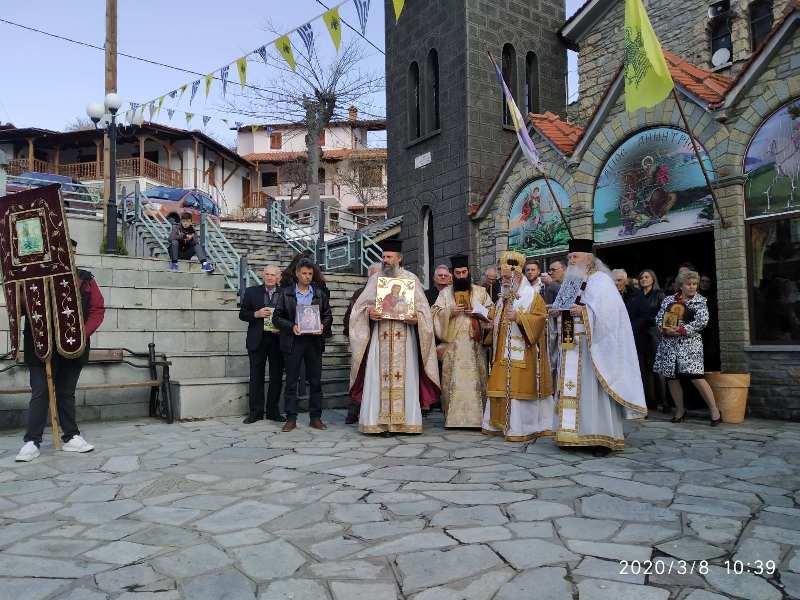 Κυριακή της Ορθοδοξίας στο Μέγαρο Γρεβενών