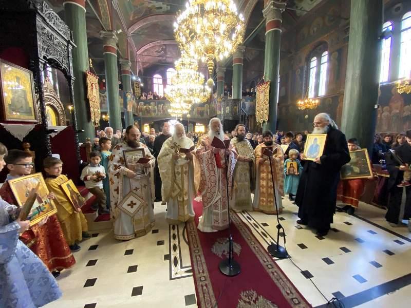 Ο εορτασμός της Κυριακής της Ορθοδοξίας στην Ευαγγελίστρια Γρεβενών