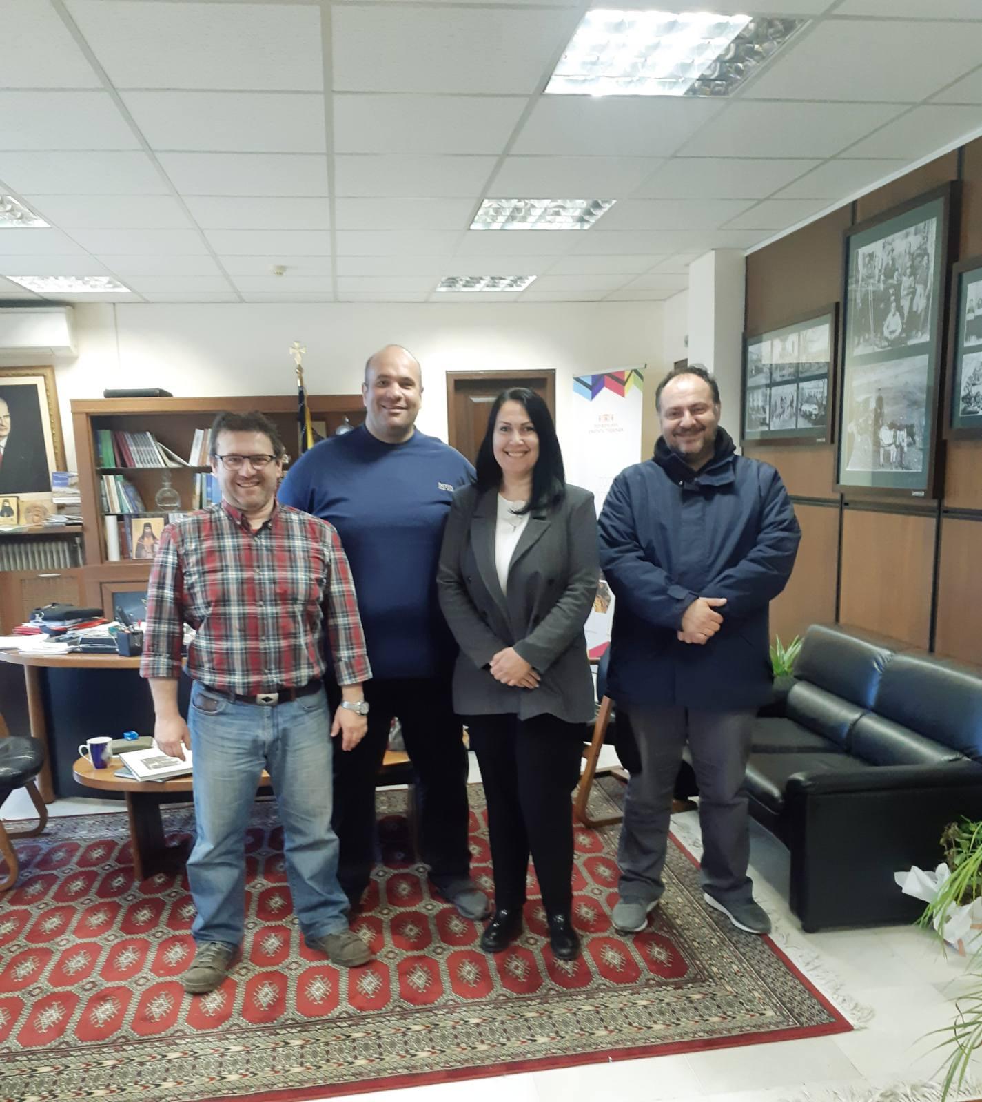 Τα μέλη της Νομαρχιακής Επιτροπής Γρεβενών συναντήθηκαν με τον Αντιπεριφερειάρχη της Π.Ε. Γρεβενών κ. Γιάτσιο Ιωάννη