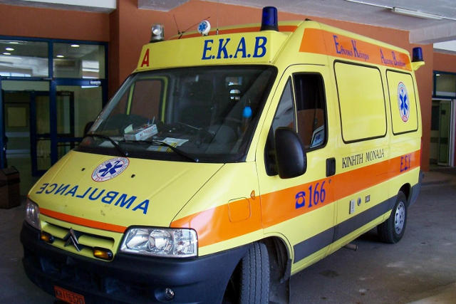 Στο ΑΧΕΠΑ μεταφέρθηκε η 90χρονη από το Νοσοκομείο Γρεβενών