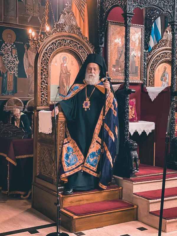 Εσπερινός της Συγγνώμης στον Ιερό Μητροπολιτικό Ναό Ευαγγελιστρίας Γρεβενών
