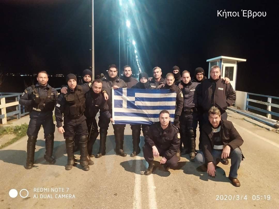 Αστυνομικοί των Γρεβενών στον Έβρο