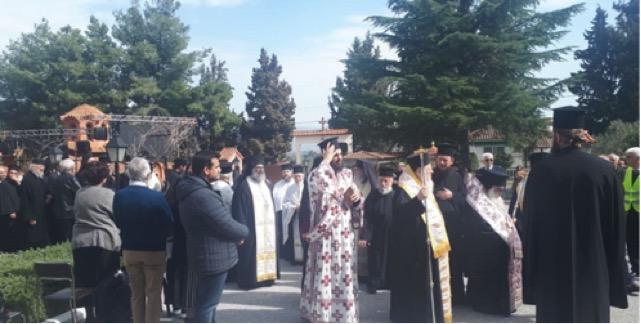 Σε κλίμα συγκίνησης η κηδεία του προστάτη των φυλακισμένων π. Γερβάσιου
