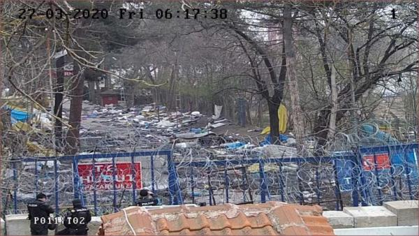 Έβρος: Αποχώρησαν οι μετανάστες από το σημείο των επεισοδίων στις Καστανιές