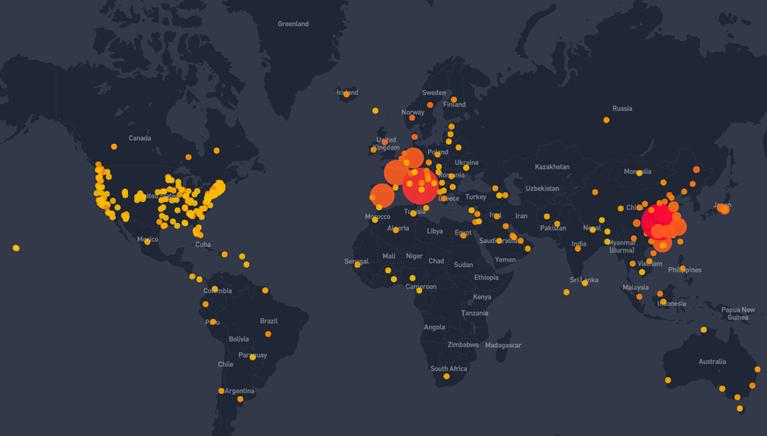 Κορωνοϊός: Ξεπέρασαν τους 21.000 οι νεκροί παγκοσμίως- 3 δισ. άνθρωποι κλεισμένοι σπίτια τους