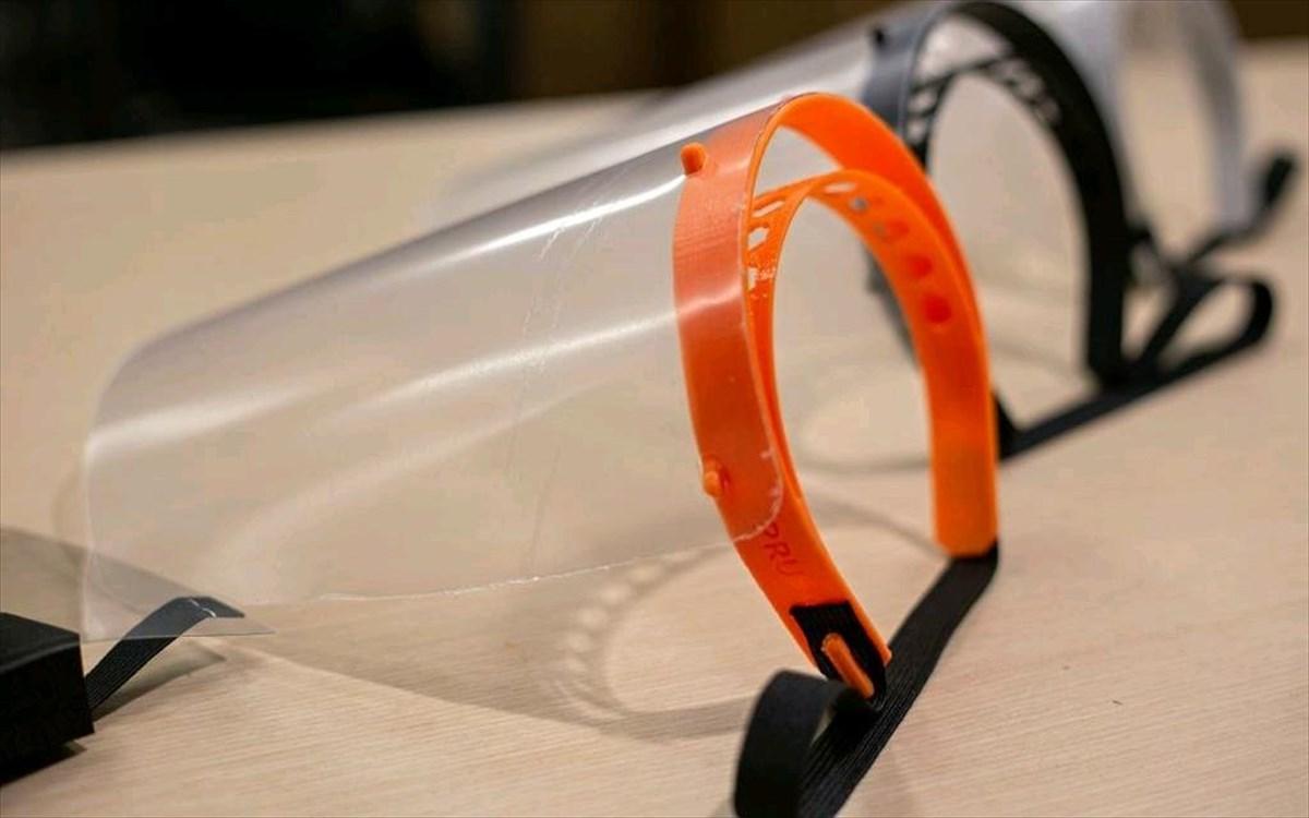 Το ΕΠΑ.Λ. Καστοριάς παράγει προστατευτικές μάσκες με χρήση 3D εκτυπωτή