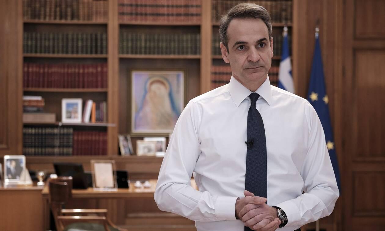 Διάγγελμα Μητσοτάκη προς τον ελληνικό λαό στις 19:30