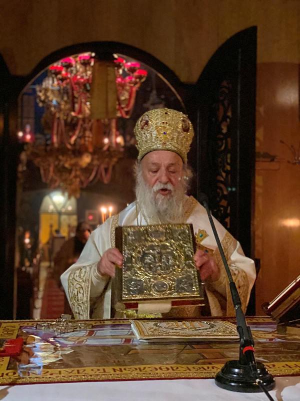 Αγρυπνία Αποδόσεως του Πάσχα στην Ευαγγελίστρια Γρεβενών