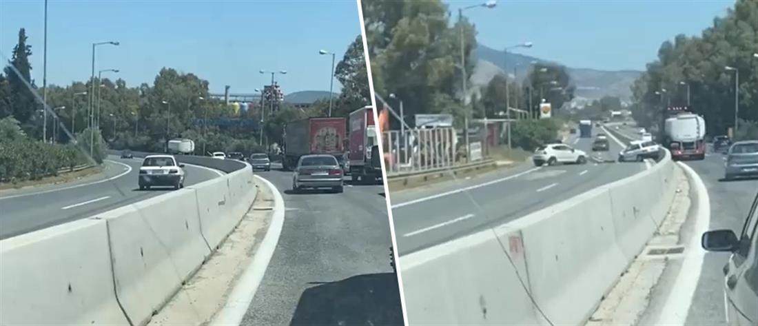 Βίντεο-ντοκουμέντο: Οδηγός στο αντίθετο ρεύμα προκάλεσε σοβαρό τροχαίο