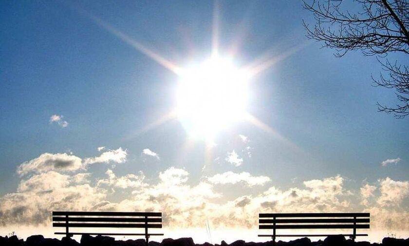 Ήλιος, ζέστη και σκόνη από την Αφρική προβλέπεται για σήμερα Δευτέρα 11 Μαΐου