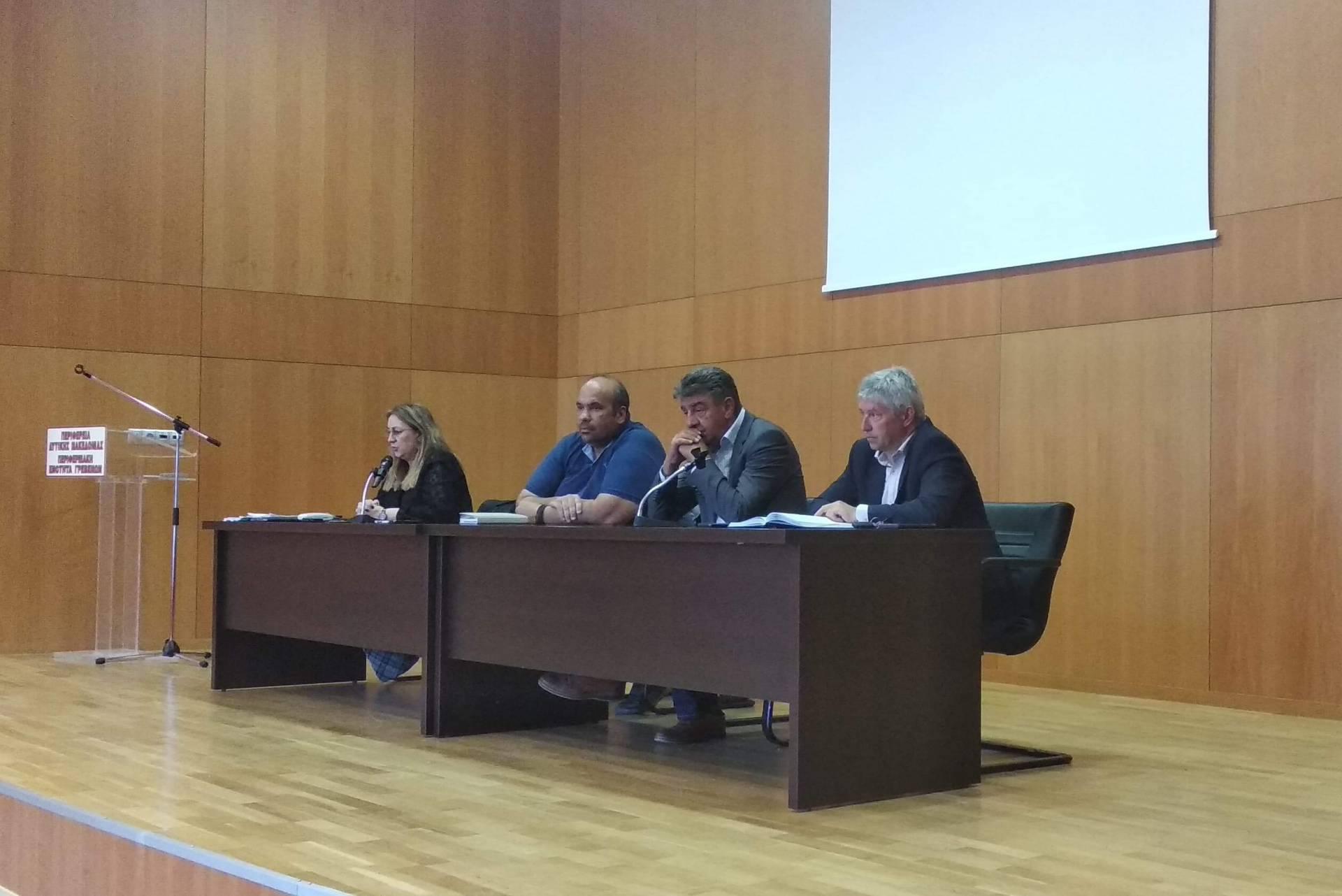 Συνεδρίαση του Συντονιστικού Οργάνου Πολιτικής Προστασίας Π.Ε. Γρεβενών ενόψει της νέας αντιπυρικής περιόδου