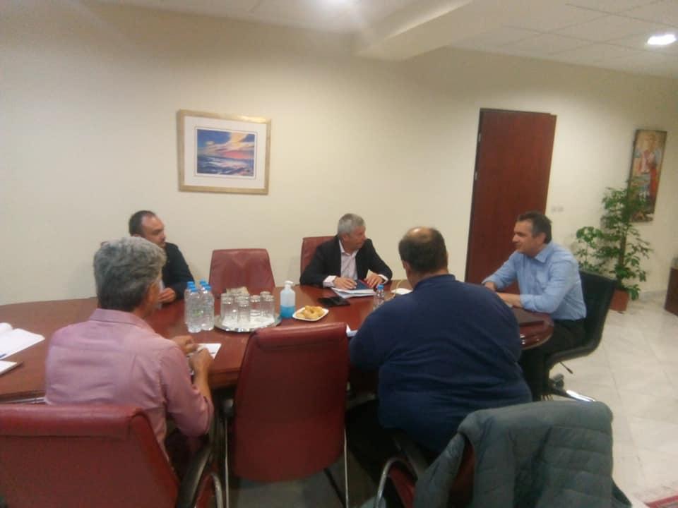 Ο δήμαρχος Δεσκάτης κ.Κορδίλας σε σύσκεψη της Περιφέρειας Δυτικής Μακεδονίας