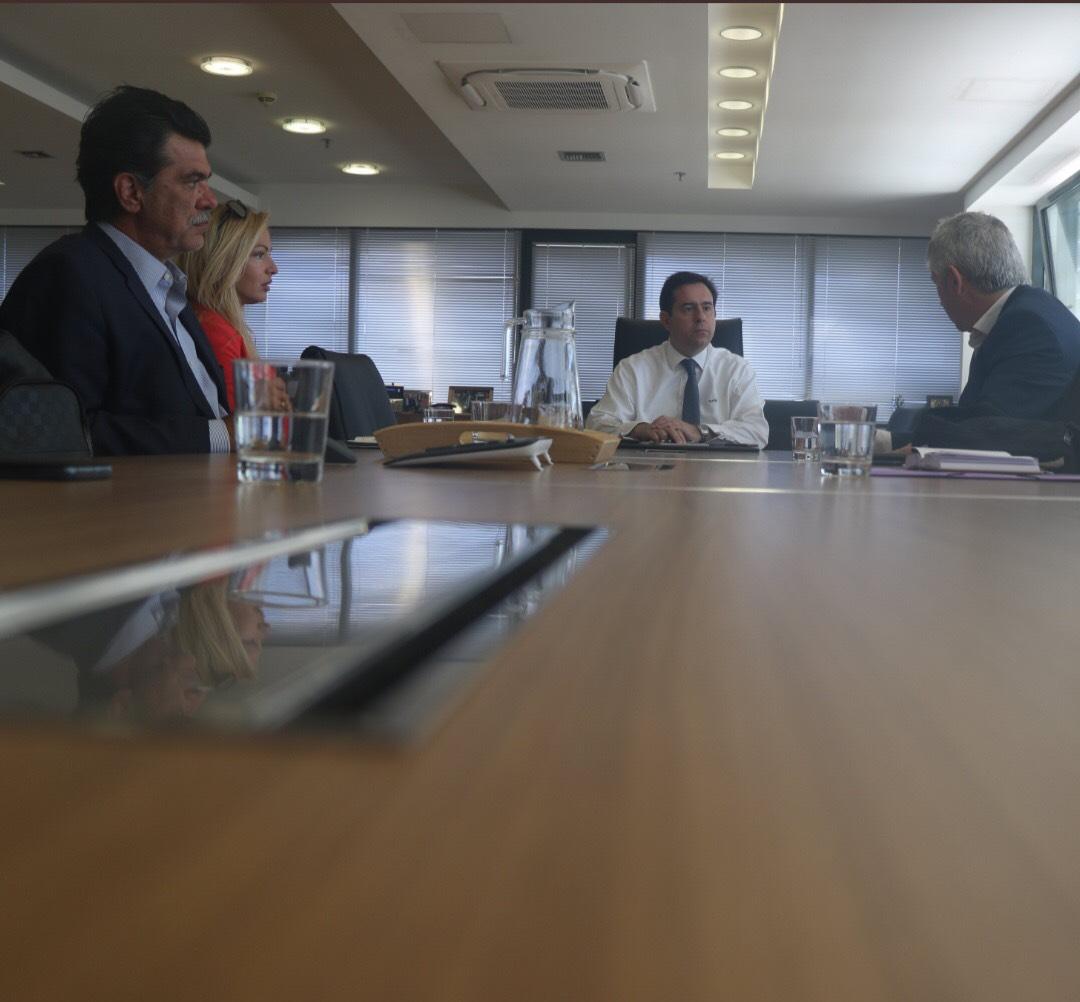 Συνάντηση του Βουλευτή Ανδ. Πάτση με τον Υπουργό Μετανάστευσης και Ασύλου