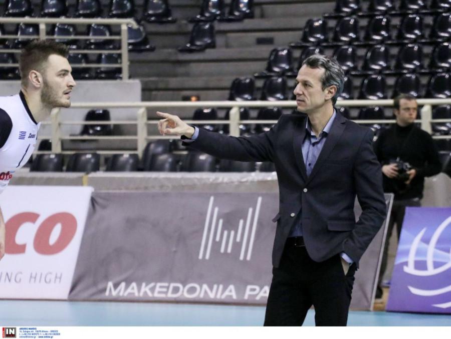 Ο Γρεβενιώτης Σάκης Ψάρας, νέος προπονητής στο Μίλωνα της Α1 Volley Αντρών