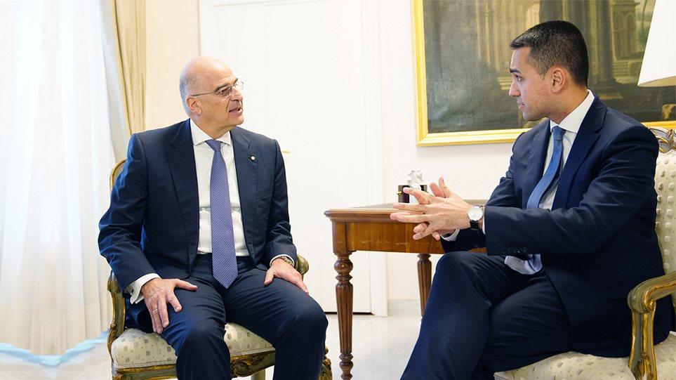 Υπεγράφη η ιστορική συμφωνία οριοθέτησης ΑΟΖ μεταξύ Ελλάδας- Ιταλίας!