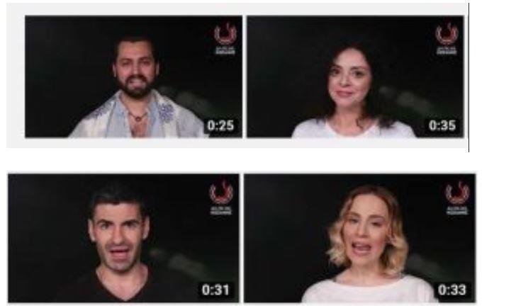Οι ηθοποιοί της παράστασης, του ΔΗΠΕΘΕ Κοζάνης, «Αχ Έρωτα» στέλνουν το μήνυμά τους για να χαιρόμαστε τις παραστάσεις κρατώντας αποστάσεις