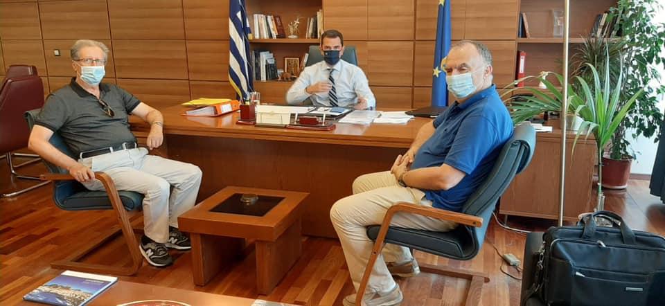 Με ποιους συναντήθηκε ο γείτονας Δήμαρχος Νεστορίου Χρήστος Γκοσλιόπουλος
