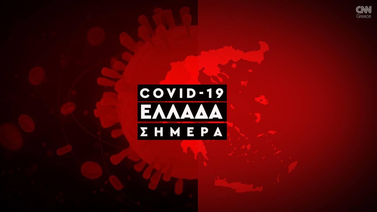 Κορωνοϊός: 453 νέα κρούσματα-6 νεκροί, 79 διασωληνωμένοι
