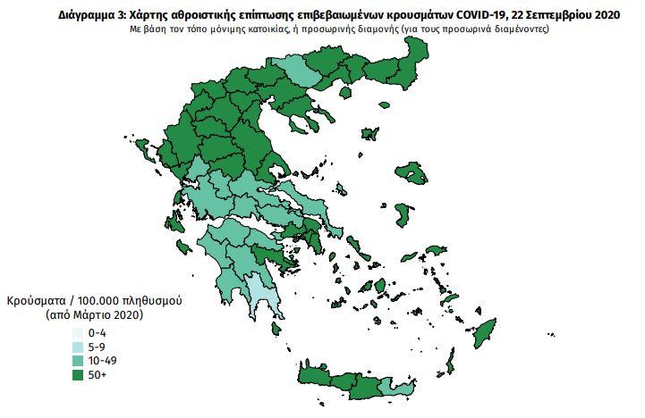 Κοροναϊός: Πώς θα λειτουργεί η εφαρμογή για τον ιό – Τι γνωρίζουμε για τον ελληνικό διαδραστικό χάρτη επικινδυνότητας