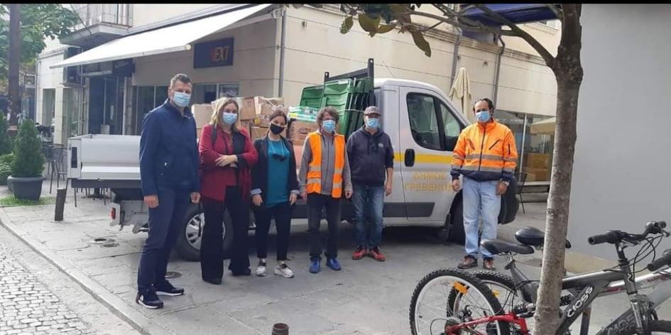 Σημαντική ανθρωπιστική βοήθεια του Δήμου Δεσκάτης για τους πλημμυροπαθείς του Δήμου Μουζακίου