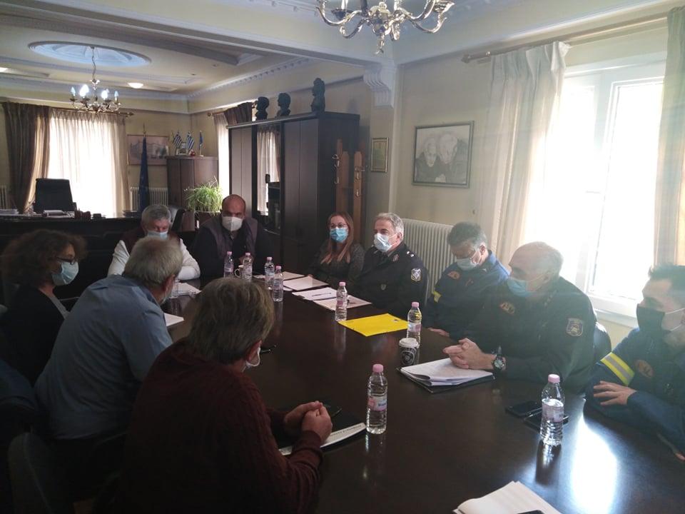 Συνεδρίαση του συντονιστικού τοπικού οργάνου πολιτικής προστασίας του Δήμου Δεσκάτης