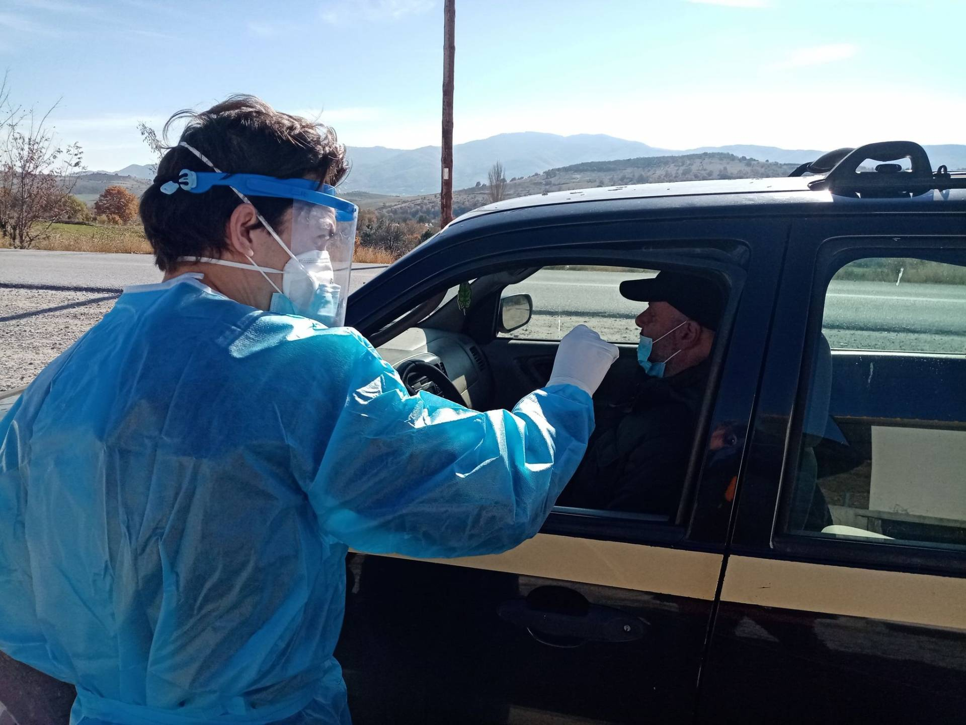 Την Δευτέρα 23 Νοεμβρίου πραγματοποιήθηκαν drive rapid test στο Δήμο Δεσκάτης