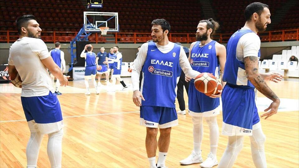 Ελλάδα – Λετονία στις 19:00, για τα προκριματικά του Εurobasket 2021, zωντανά από την ERTSPORTS