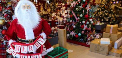Τη Δευτέρα ανοίγουν για το κοινό τα καταστήματα με εποχικά είδη για τις Χριστουγεννιάτικες αγορές – Το απαραίτητο SMS για να ψωνίσετε