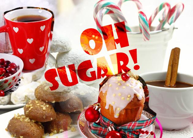 Πόσες θερμίδες έχουν τα εορταστικά γλυκά;