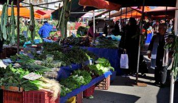Ποια είδη μπαίνουν από Δευτέρα στις Λαϊκές Αγορές