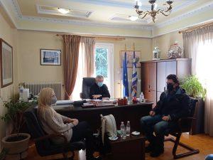 Συνάντηση του βουλευτή κ. Πάτση Ανδρέα με τον Δήμαρχο Δεσκάτης κ. Κορδίλα Δημήτριο