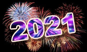 Πρωτοχρονιά: Πώς υποδέχθηκε η Ελλάδα το 2021 -Υπερθέαμα με πυροτεχνήματα και άδειους δρόμους (Φωτογραφίες)