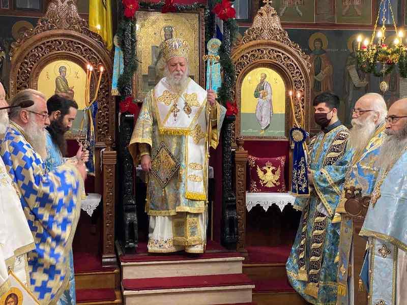 Ο εορτασμός των Αγίων Θεοφανίων στα Γρεβενά