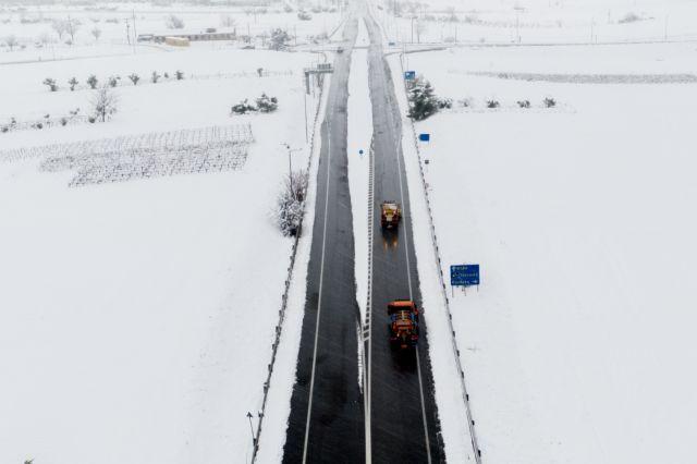 «Λέανδρος»: Χιόνια και τσουχτερό κρύο για σήμερα Δευτέρα