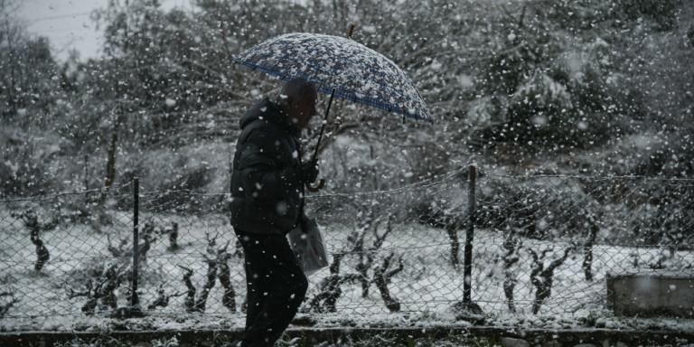 Έρχεται η κακοκαιρία «Λέανδρος»: Με «πολικές» θερμοκρασίες και δύο κύματα χιονοπτώσεων