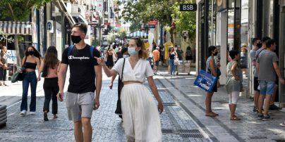 Lockdown: Πολύς κόσμος και σήμερα στο κέντρο της Αθήνας -Ουρές έξω από τα μαγαζιά (Φωτογραφίες)
