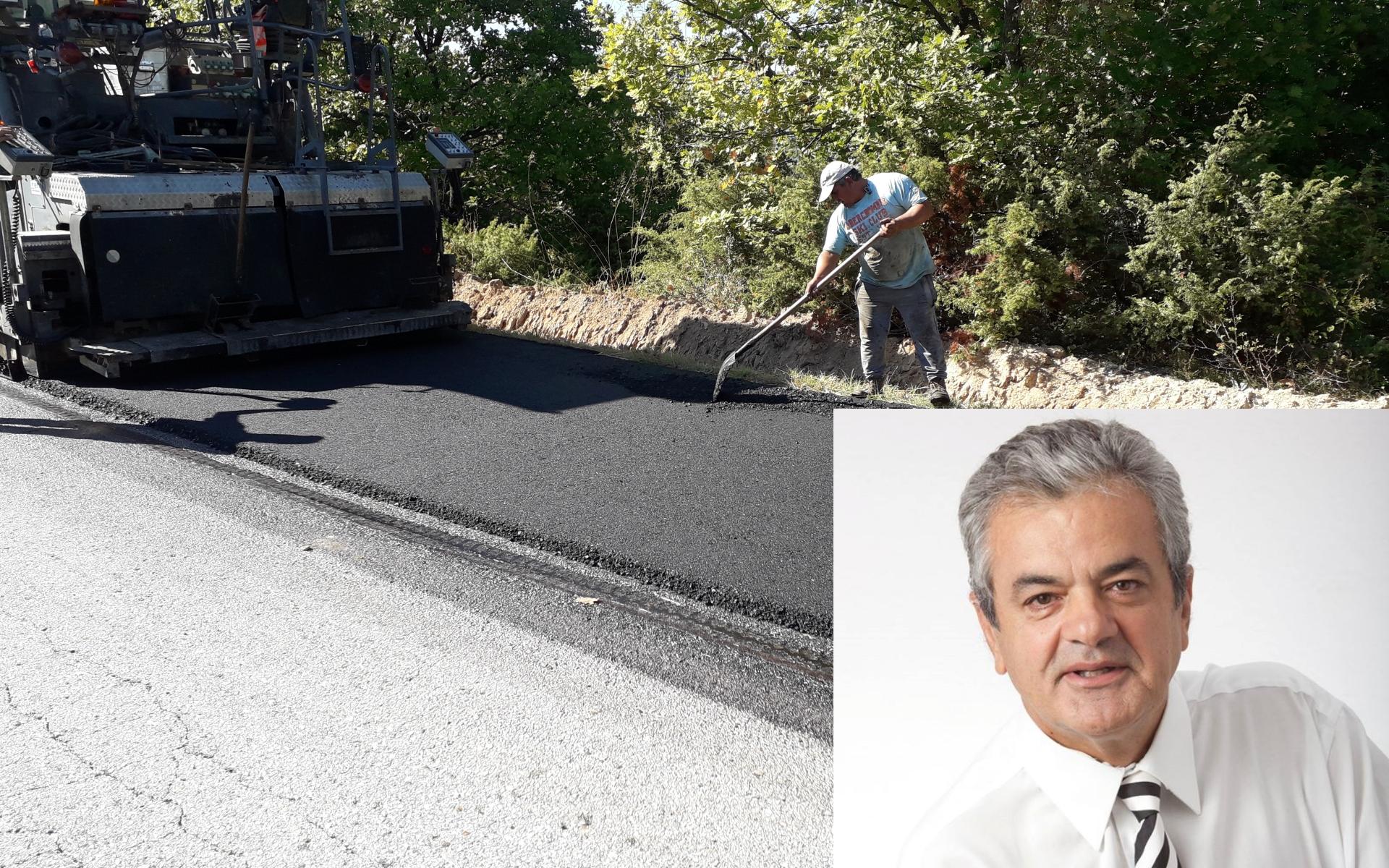 1.785.000,00 € για εκτενή Συντήρηση-Βελτίωση του Επαρχιακού Οδικού δικτύου του Βοΐου