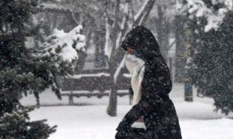 Χιόνια και τσουχτερό κρύο έφερε η Μήδεια