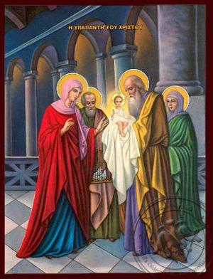2 Φεβρουαρίου: Υπαπαντή Του Κυρίου -Δεσποτική εορτή της Χριστιανοσύνης