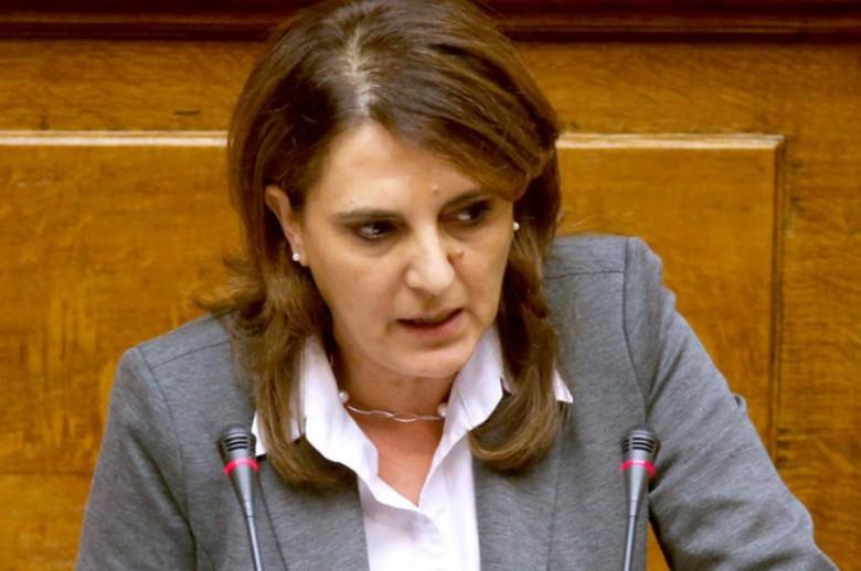 Ολυμπία Τελιγιορίδου: Με ευθύνη της περιφέρειας εξαιρέθηκαν οι αγρότες της Καστοριάς και των Γρεβενών από το προδημοσιευμένο πρόγραμμα 6.1 λόγω απολιγνιτοποίησης.