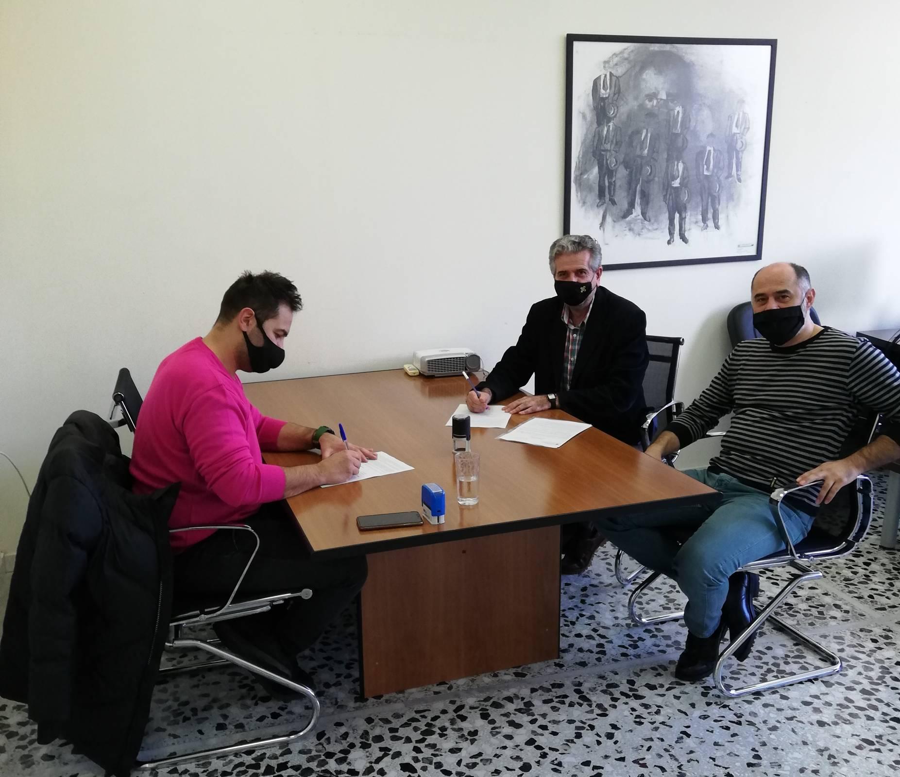 Πανεπιστήμιο Δυτικής Μακεδονίας: Υπεγράφη η σύμβαση που αφορά το έργο «Διαμόρφωση εξωτερικού χώρου Νέου Διοικητηρίου, στα Κοίλα Κοζάνης».