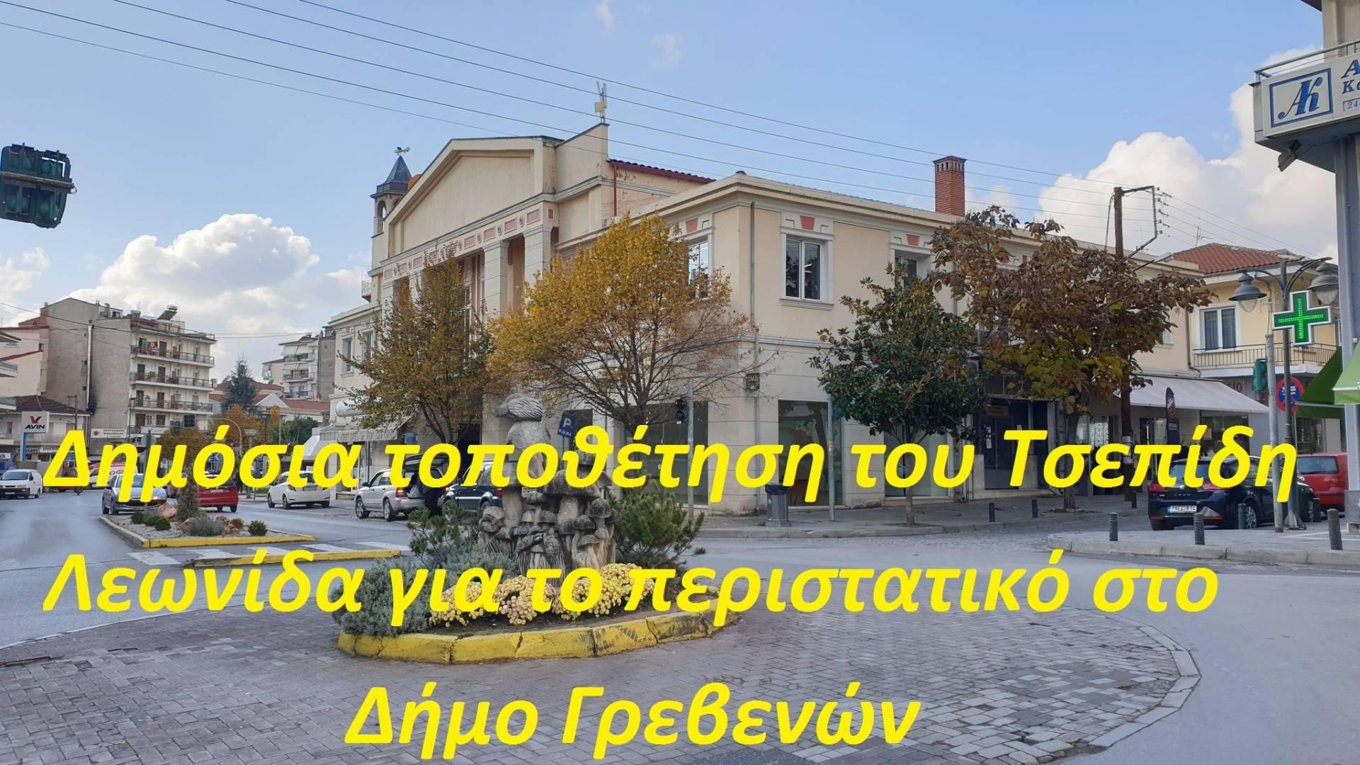 Δημόσια τοποθέτηση του Τσεπίδη Λεωνίδα για το περιστατικό στο Δήμο Γρεβενών
