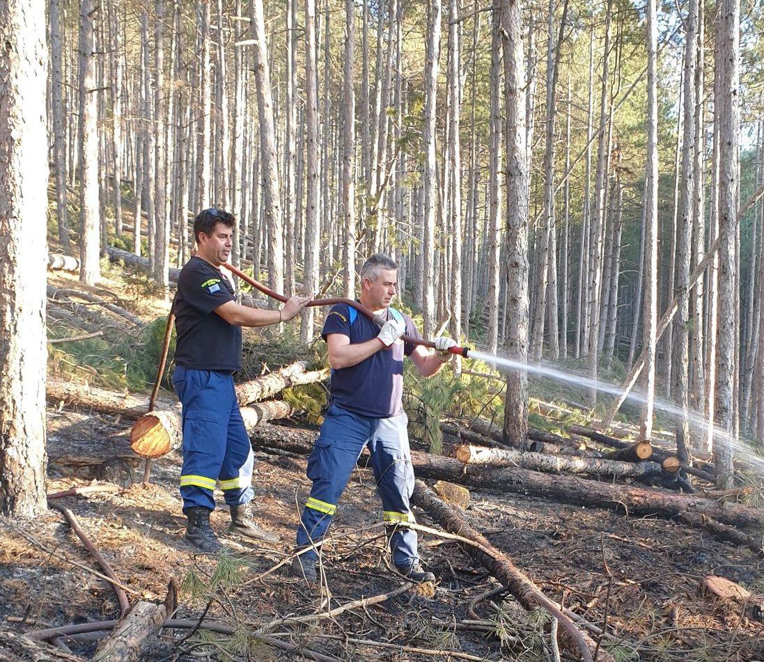 Άμεση και αποτελεσματική ήταν η επέμβαση της Πυροσβεστικής Υπηρεσίας του Δήμου Δεσκάτης σε πυρκαγιά