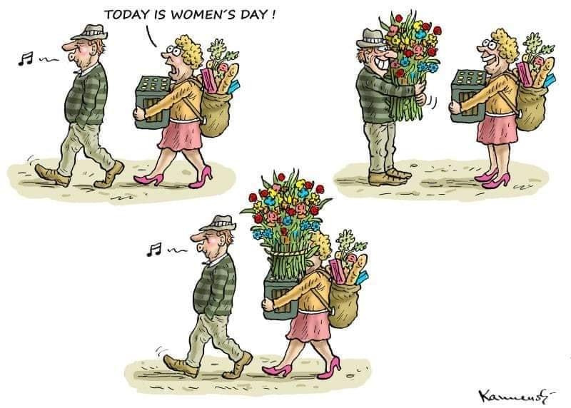 …μπορεί να τέλειωσε η Γιορτή της Γυναίκας…αλλά για κάποιους Ρομαντικούς…η Γιορτή της Γυναίκας δεν τελειώνει ποτέ…*Του Ευθύμη Πολύζου