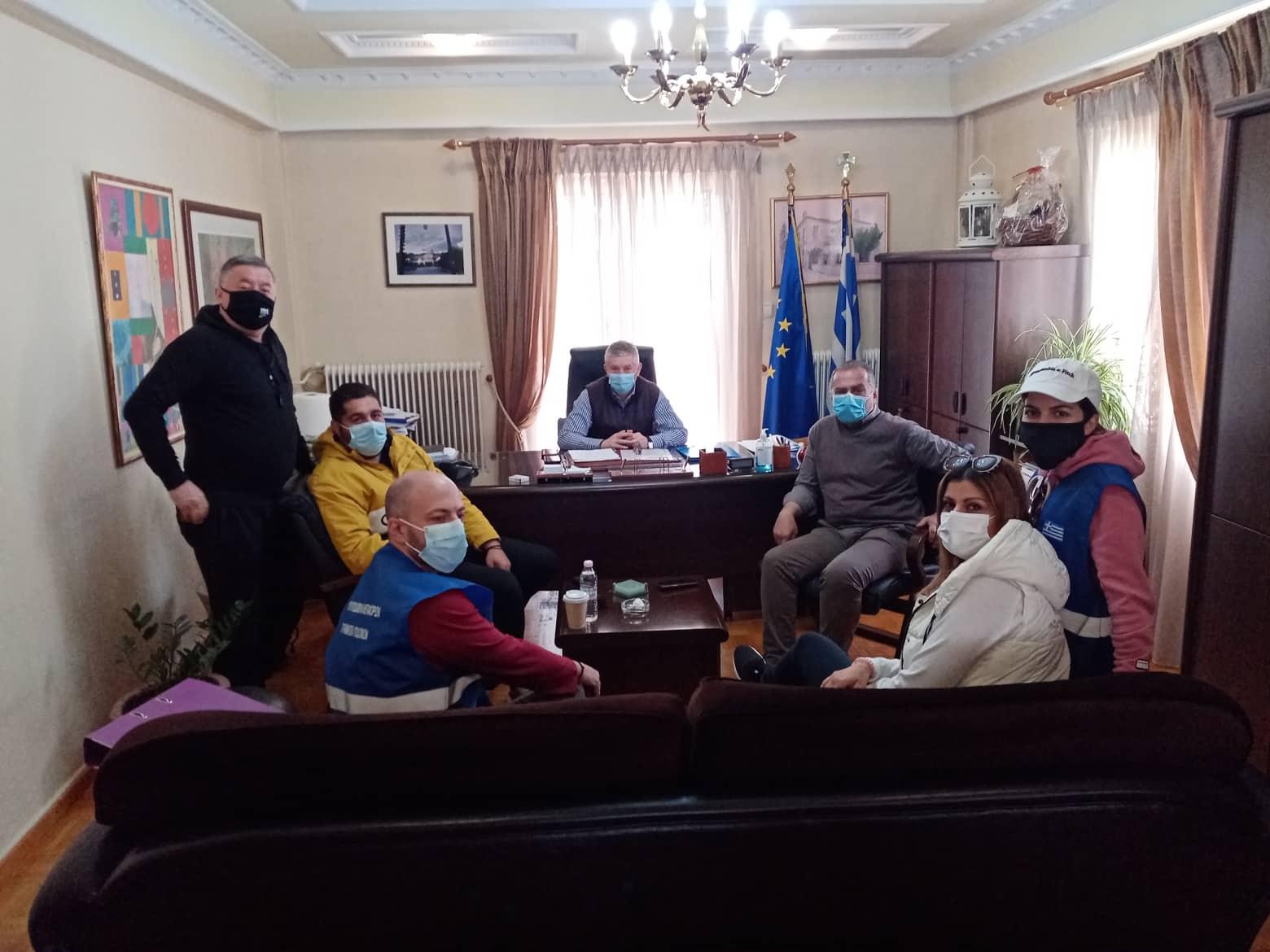 Έλεγχος από ειδικά κλιμάκια για τις υλικές ζημιές των οικιών στο Δήμο Δεσκάτης