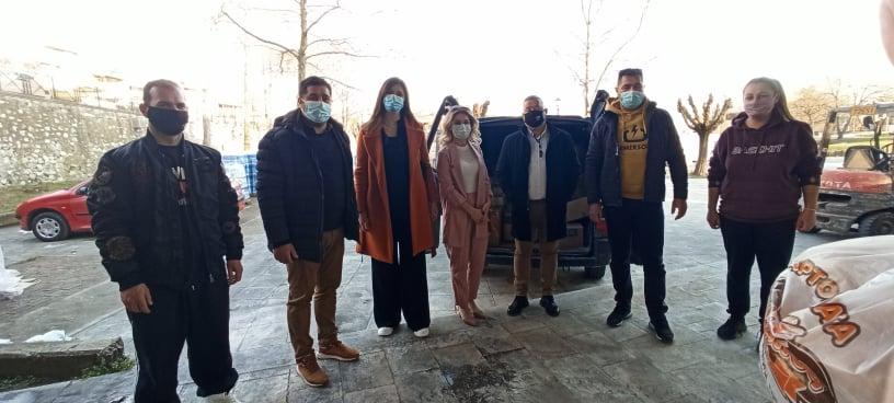 Δήμος Δεσκάτης: Στήριξη-κοινωνική προσφοράστους σεισμοπαθείς του Δήμου Ελασσόνας