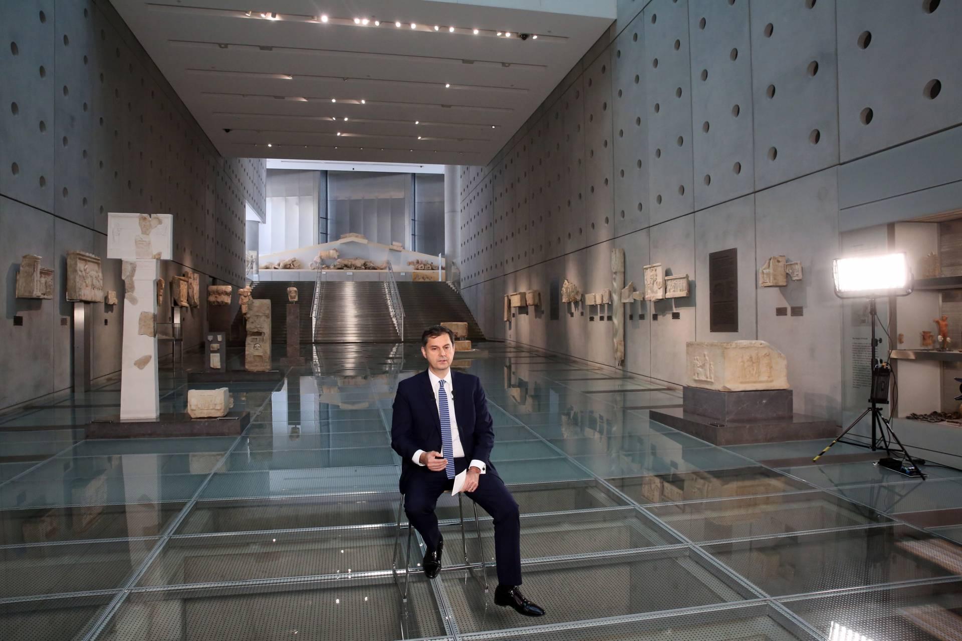 «Στις 14 Μαΐου ανοίγει ο Ελληνικός Τουρισμός. Με παγκόσμιο σύνθημα: All you want is Greece» ανακοίνωσε ο Υπουργός Τουρισμού κ. Χάρης Θεοχάρης
