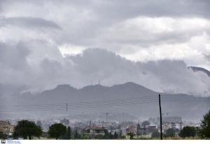 Καιρός: Βροχές στις περισσότερες περιοχές της χώρας